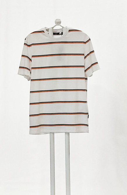 CAMISETA BLANCA RAYAS ONLY AND SONS